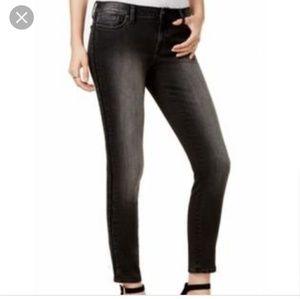 Tommy Hilfiger black washed beaded jeans sz 6 nwot